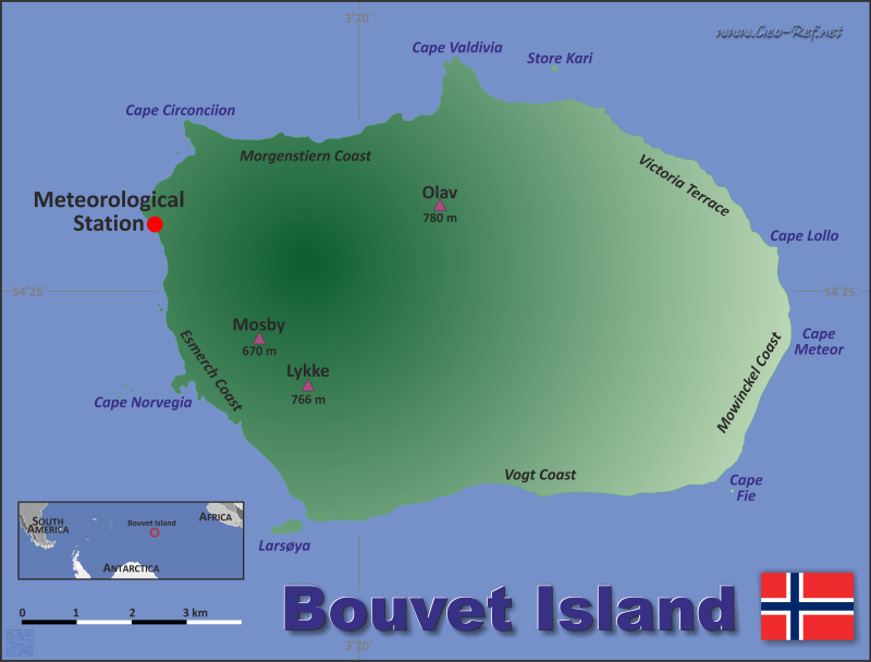 map of bouvet island choice image
