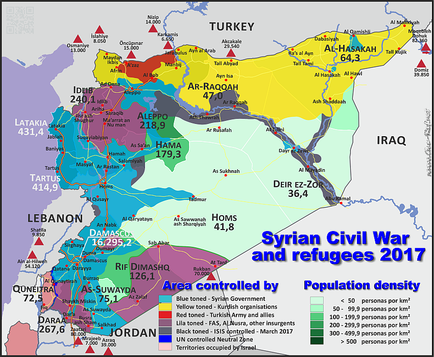 Situation Syrienkrieg 2017
