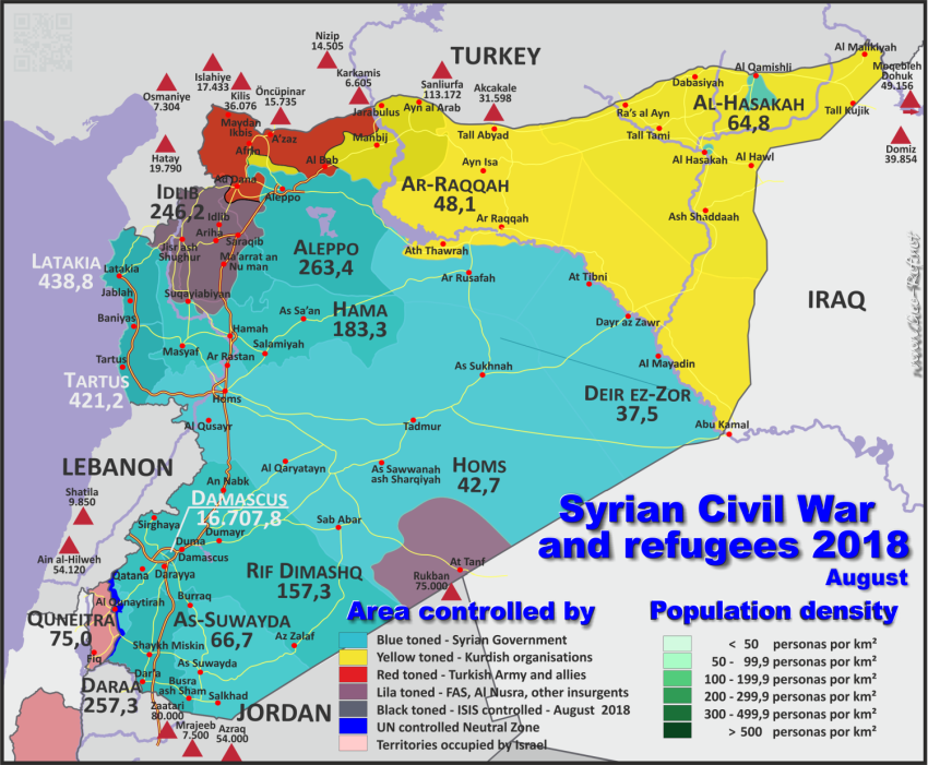 Situation Syrienkrieg 2018