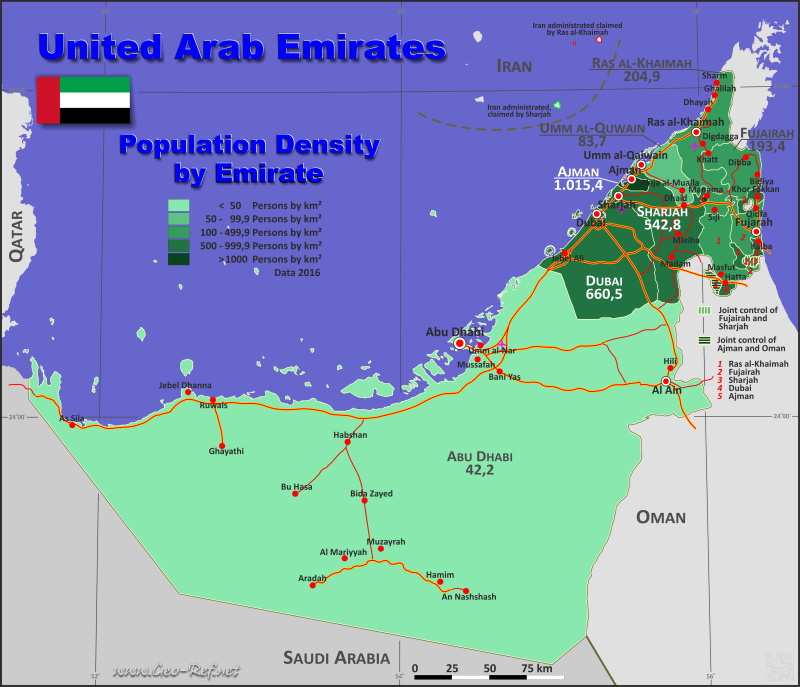 United Arab Emirates Country data, links and map by ... on map of algeria, middle east, ras al-khaimah, burj al-arab, united states of america, map of bhutan, map of sudan, map of malaysia, arabian peninsula, persian gulf, map of iran, map of isle of man, map of ethiopia, map of dubai and surrounding countries, map of netherlands, abu dhabi, burj khalifa, map of montenegro, saudi arabia, map of singapore, map of pakistan, map of hungary, map of oman, map of venezuela, map of bosnia, map of bahrain, map of israel, map of armenia, map of denmark,