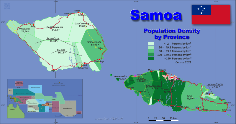 map samoa population density